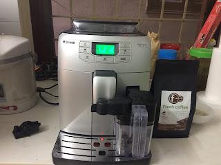 Sửa máy pha cà phê Saeco Intelia