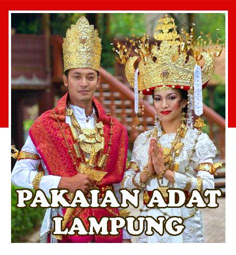 Gambar Pakaian adat Provinsi Lampung
