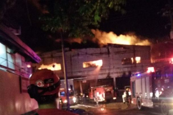 Fire hits HTI Cavite factory anew