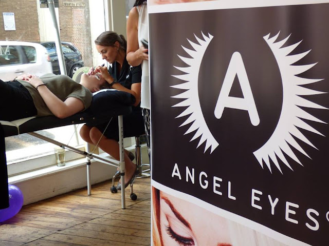 leicester, angel eyes, lash extension