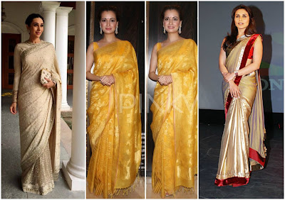 How to style Sarees for Short Girls, fashion tips for short girls, indian wear tips for short girls, how to style indian wear for short girls