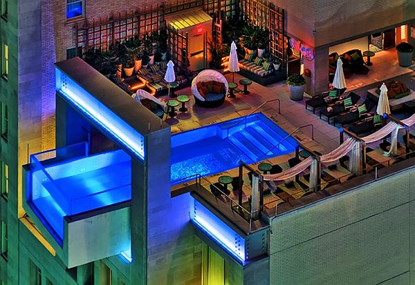 Luxury life design most beautiful rooftop pools in the world for Design hotel jewel