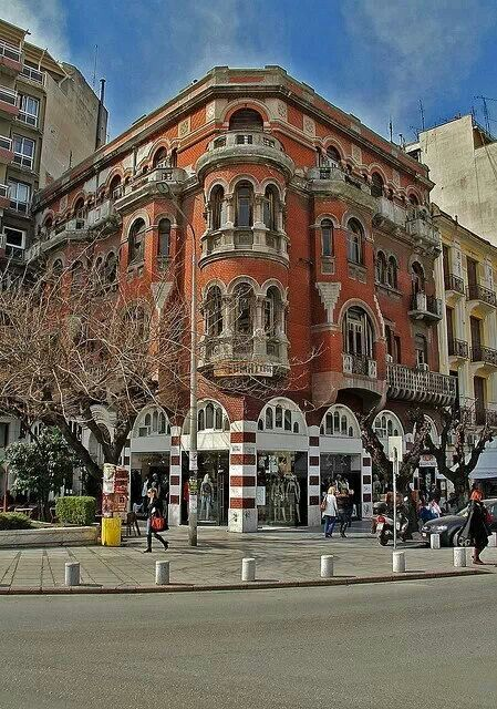 The Red House of Thessaloniki