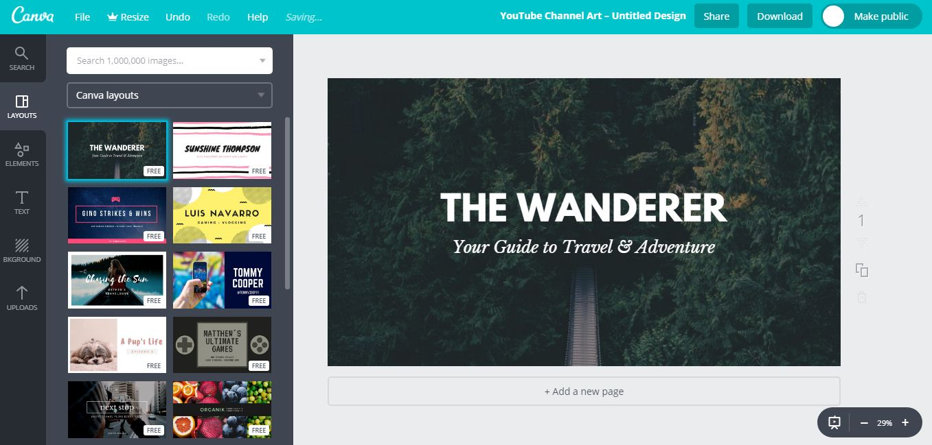 Canva Online Image Editing Tools