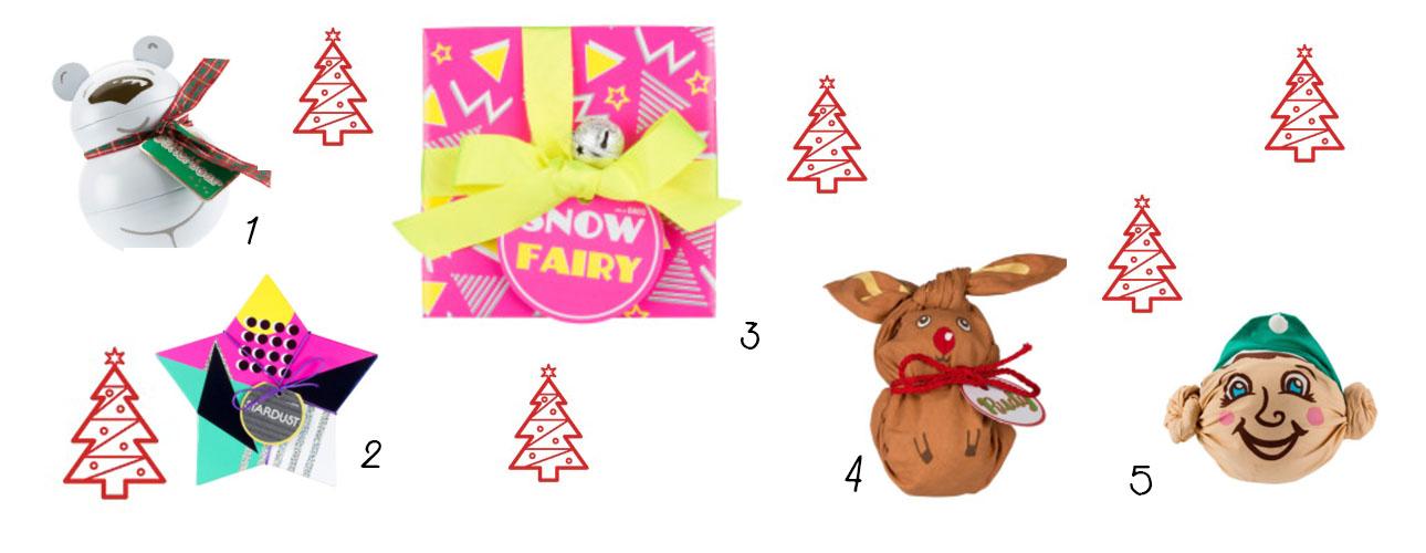 Lush Christmas Gift Guide