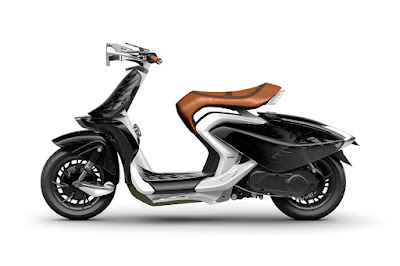 Yamaha 04Gen Concept Scooter pics