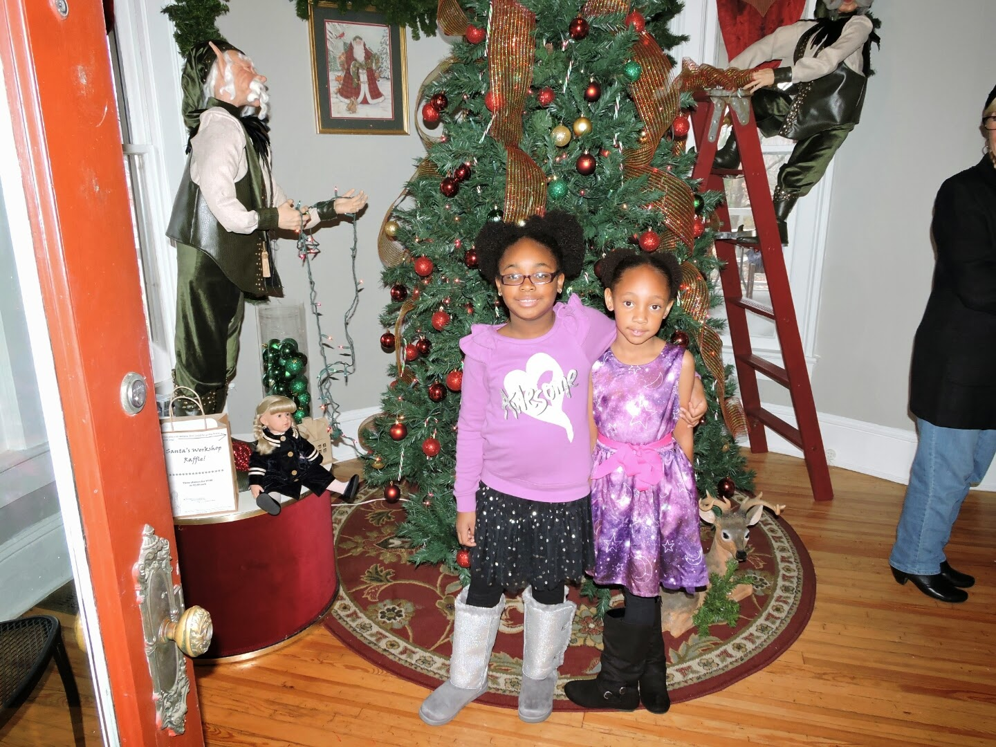 Holiday Fun with The Girls via www.productreviewmom.com