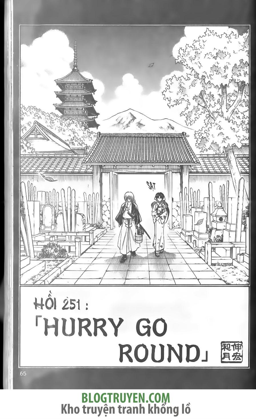 Rurouni Kenshin chap 251 trang 7