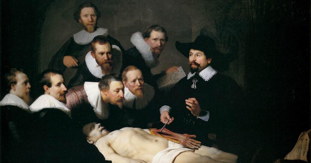 Artetorre: LA LECCIÓN DE ANATOMÍA DEL DOCTOR NICOLAES TULP (Rembrandt)