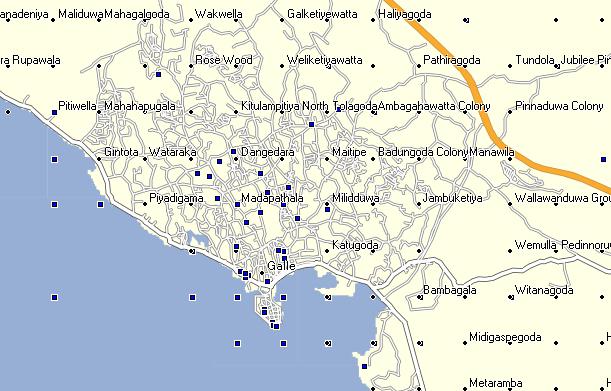 GPSTravelMaps com: Sri Lanka GPS