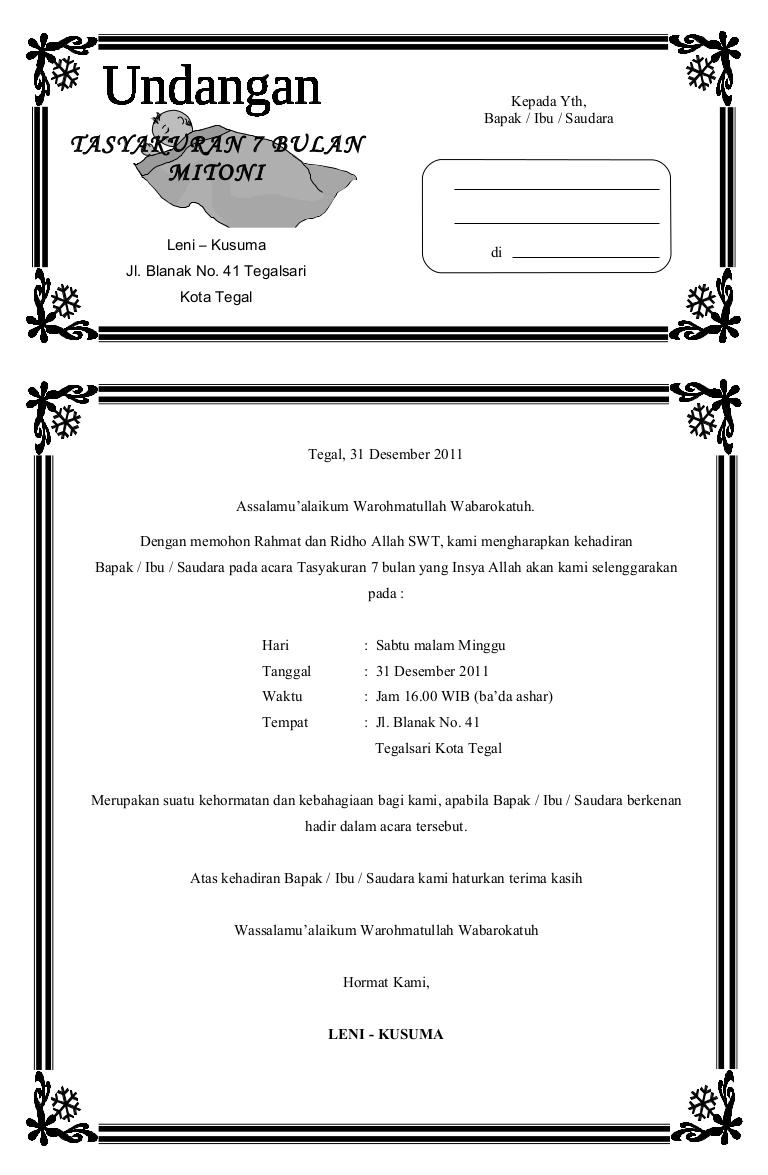 contoh ucapan aqiqah yang bisa di edit - wood scribd indo