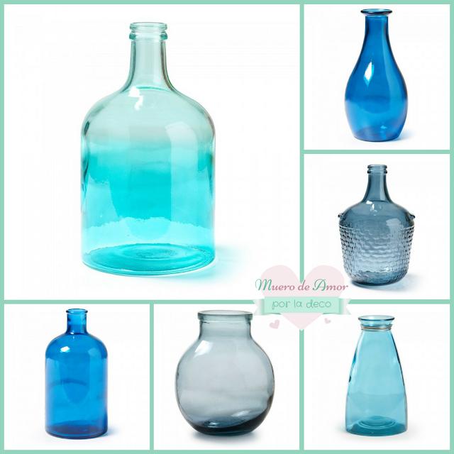 Jarrones Azules para Decorar tu Casa-Kavehome-By Ana Oval-2