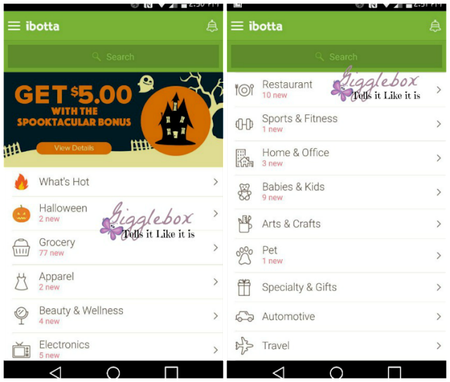 A step-by-step how-to on how to use the Ibotta app on your smart phone,