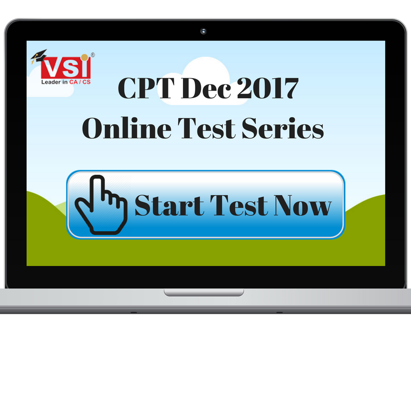 Free Online CPT Practice Test Series Out for December 2017 Attempt