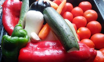 Gazpacho De Verduras Asadas