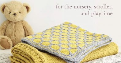 stroller and playtime For the nursery 35 Knitted Baby Blankets