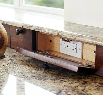 Lisa Mende Design Outlet Placement For Your Kitchen On