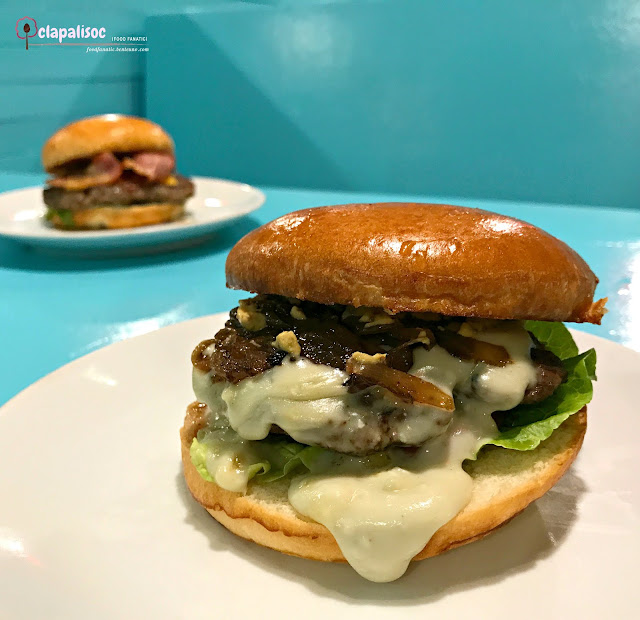 Blue Cheeseburger from BBK Gourmet Burger BGC