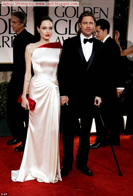 Angelina Jolie and Brad Pitt Marriage Picture