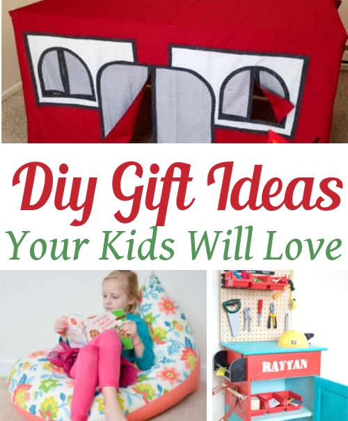 Diy Home Sweet Home Diy Christmas Gifts For Kids
