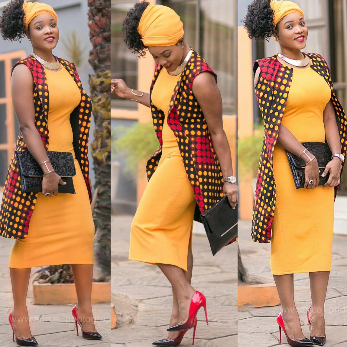 Beatiful Ankara Jackets For Fashionable Women Blogger4zero
