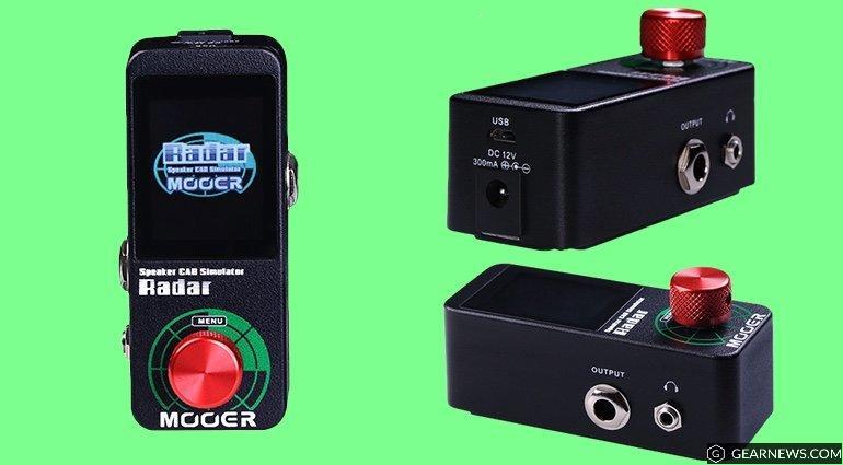 STOMP BOX STEALS: MOOER Radar speaker simulator   turn your