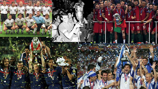 Euro Cup Winners 1960 To 2016