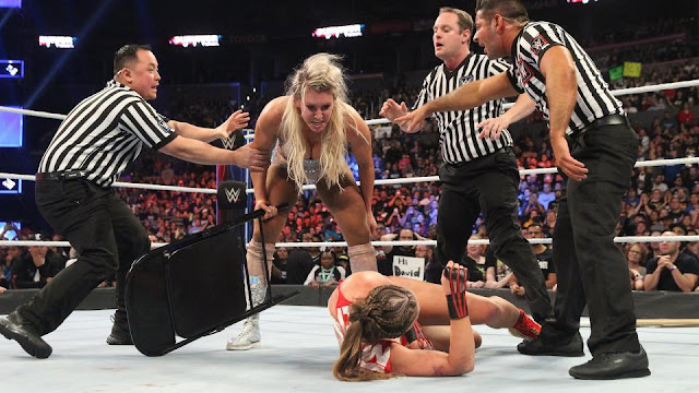 2018 survivor Series : Ronda Rousey def. Charlotte Flair by disqualification