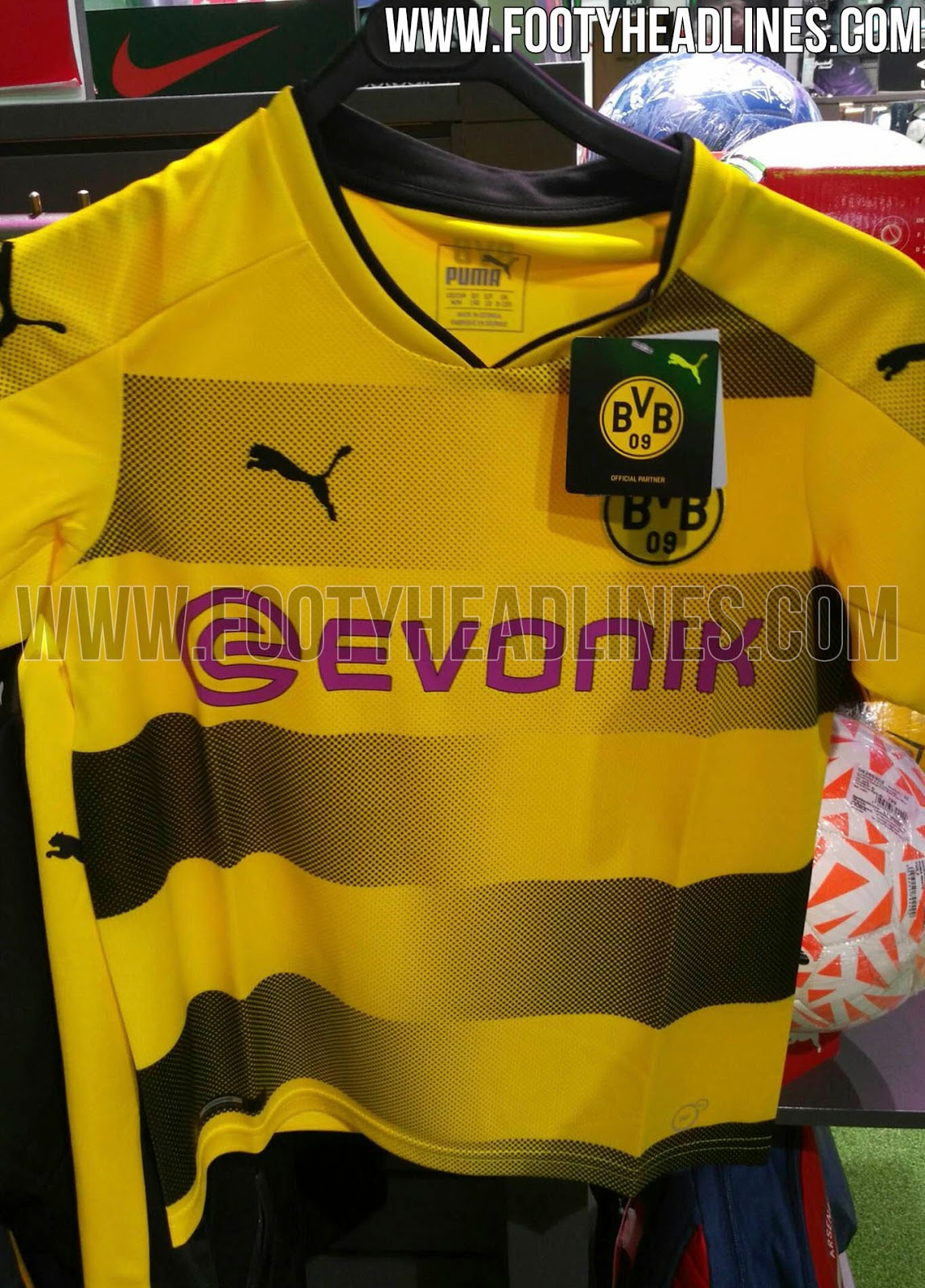 das borussia dortmund 17 18 trikot wurde am 18 mai. Black Bedroom Furniture Sets. Home Design Ideas