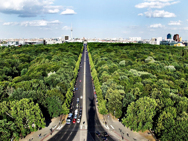 Grosser Tiergarten em Berlim