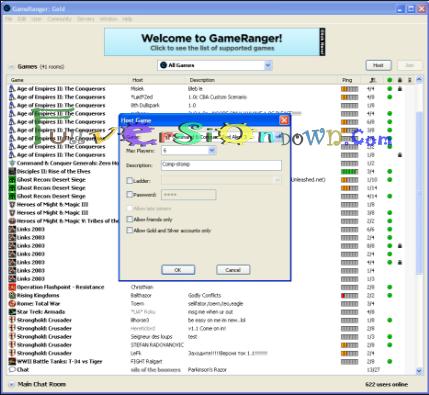 Free Download GameRanger Gold Full Version