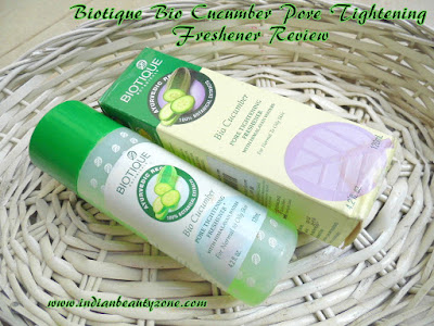 Skin pore tightening toner