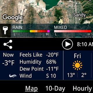 It's COLD!!!