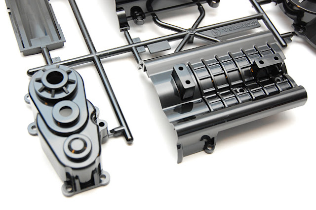 Tamiya High Lift transmission parts tree