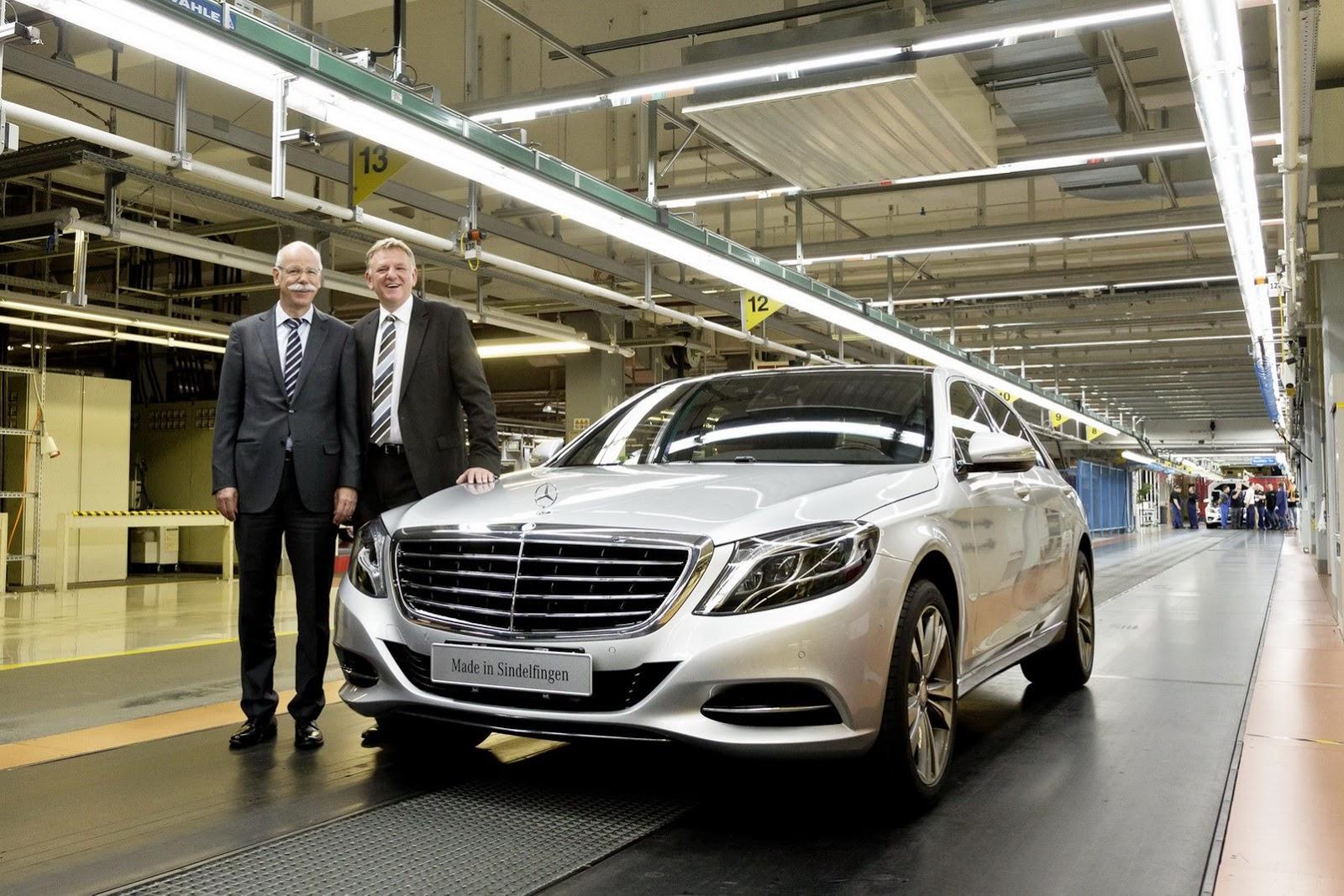 Mercedes-Benz đang tập trung vào các dòng xe hạng sang như S Class