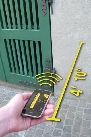 Pocketmeter برنامج لقياس المسافات مجلتك المعمارية