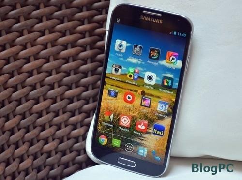 O Galaxy S4 foi o smartphone top de linha da Samsung do ano de 2013