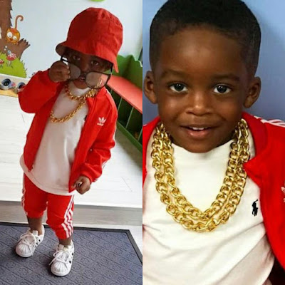 Photos of Tiwa Savage:s Son, Jamil