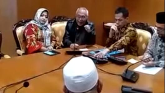 """Video Permadi Suruh Siap Korban Nyawa Menangkan Prabowo, """"Tidak Ada Konstitusi, Siapa Kuat Siapa Menang"""""""