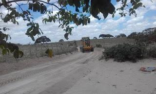 Ação contínua do programa Campo Sustentável: Prefeitura de Picuí recupera estradas vicinais no município