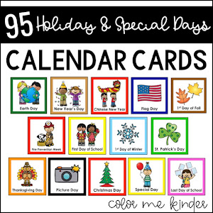 95 Holiday & Special Day Calendar Cards