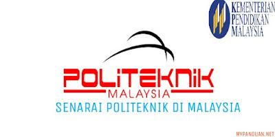 Senarai Politeknik Terkini di Malaysia