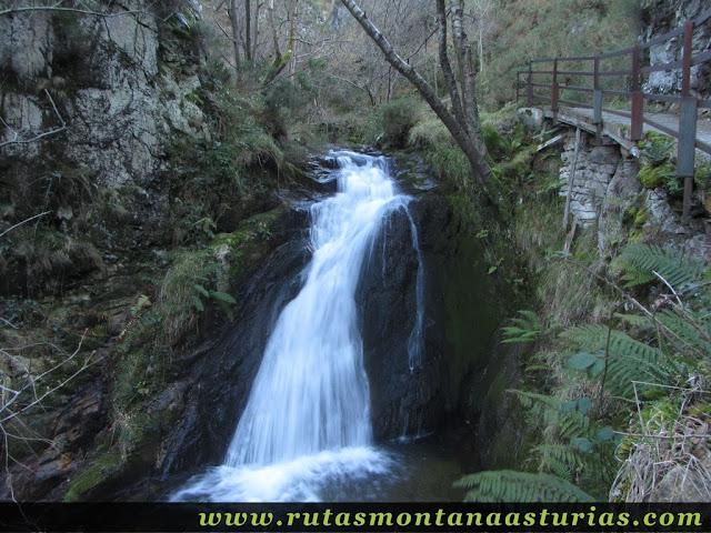 Salto de Agua en la Foz del Nozalín