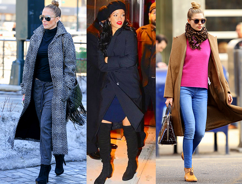 7 Celebrity Style Fall Jacket Trends