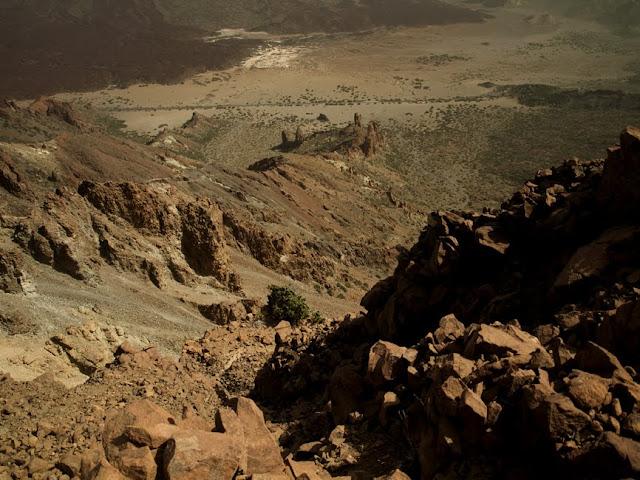 Las Cañadas desde el Sombrero de Chasna