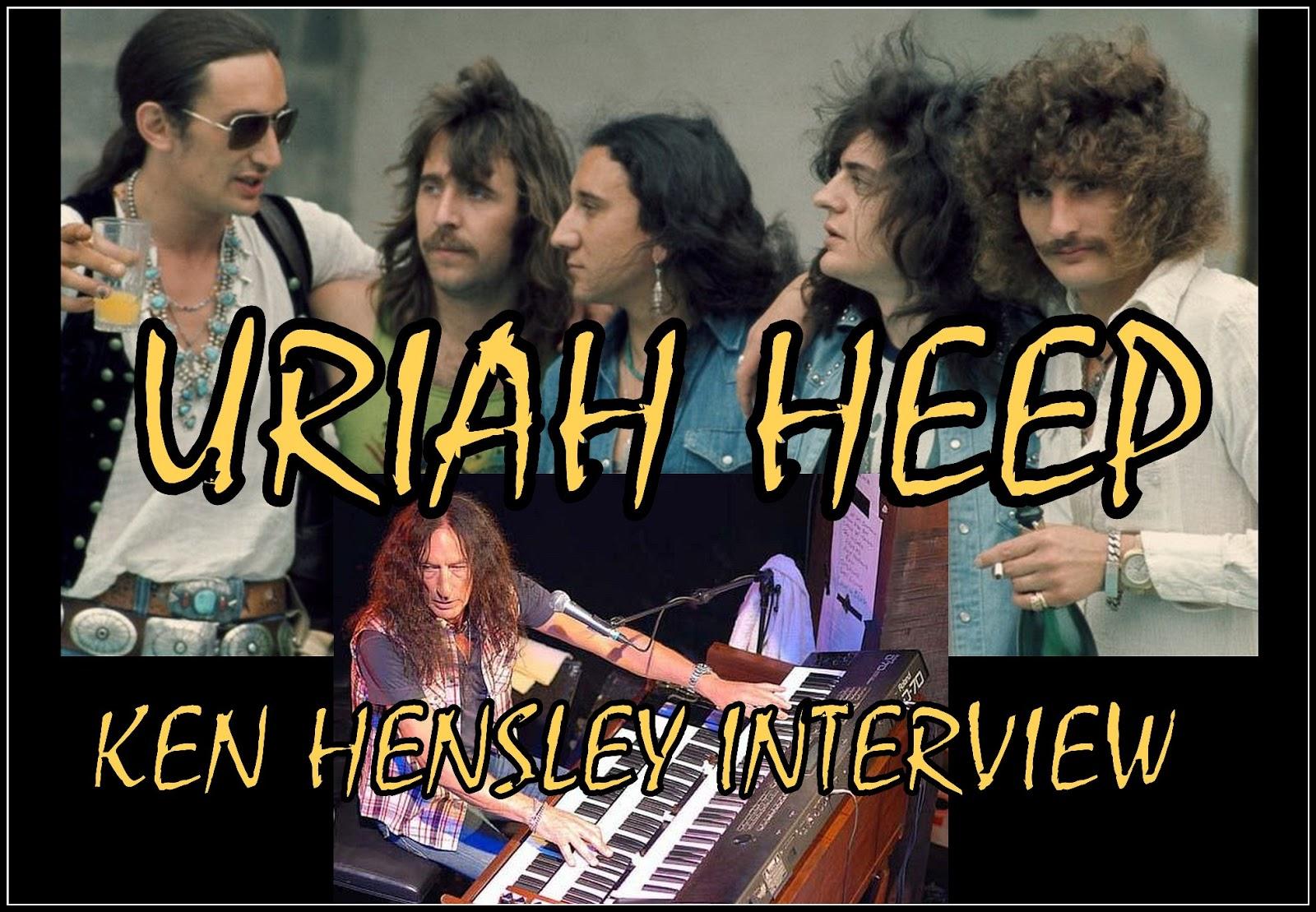 The Classic Rock Music Reporter Uriah Heep Wizard Ken Hensley On The Ray Shasho Show