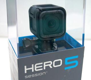 GoPro Hero 5 Session Fullset - Baru
