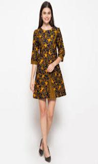 Model Baju Batik Kerja Casual