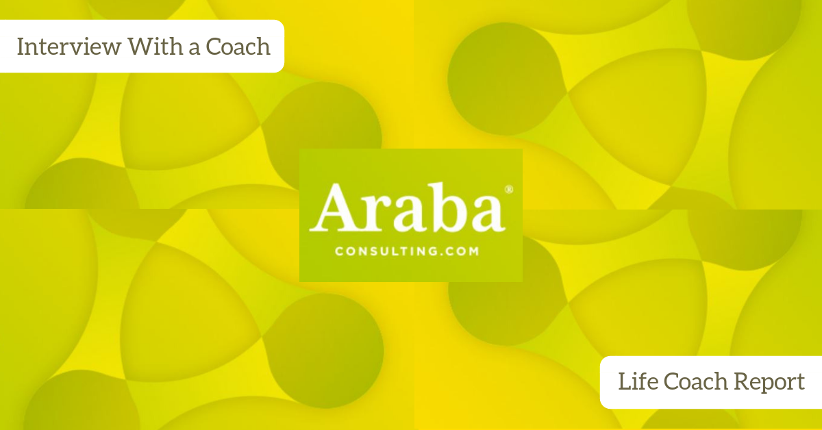 Life Coach Report | Interview With a Coach | Joan van den Brink | Araba Consulting