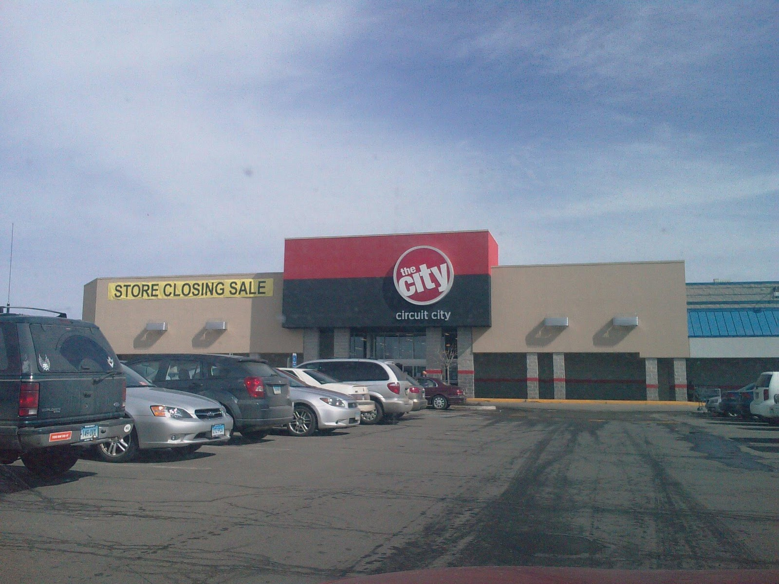 Dead And Dying Retail Circuit City In Torrington Connecticut